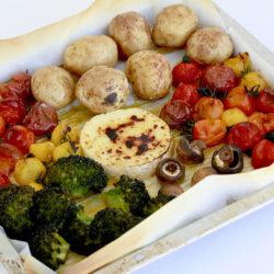 丸々野菜のオーブンフォンデュ