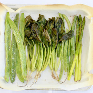 グリーン野菜のココナッツグリル