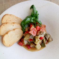 ラタトゥイユ(季節野菜の煮込み)