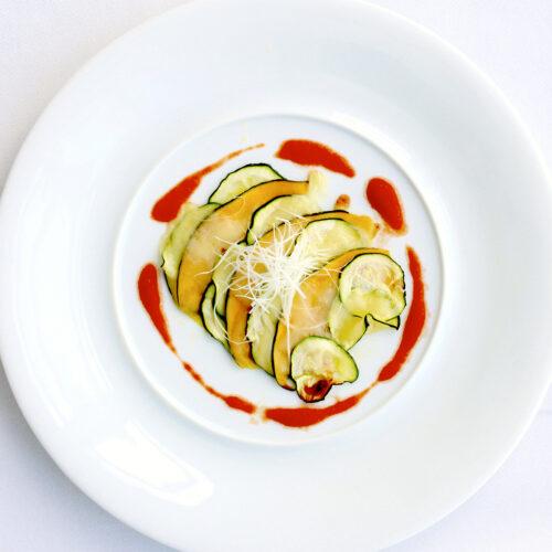 野菜のミルフィーユロースト カボチャとズッキーニ