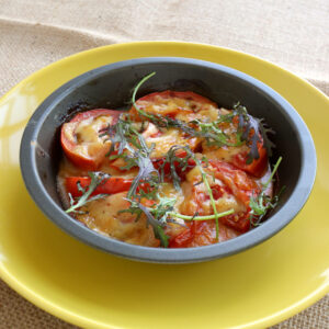 トマトの西京味噌ロースト